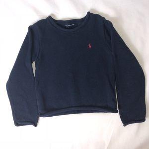 Ralph Lauren Crewneck Boys Blue Sweater size 6/6X